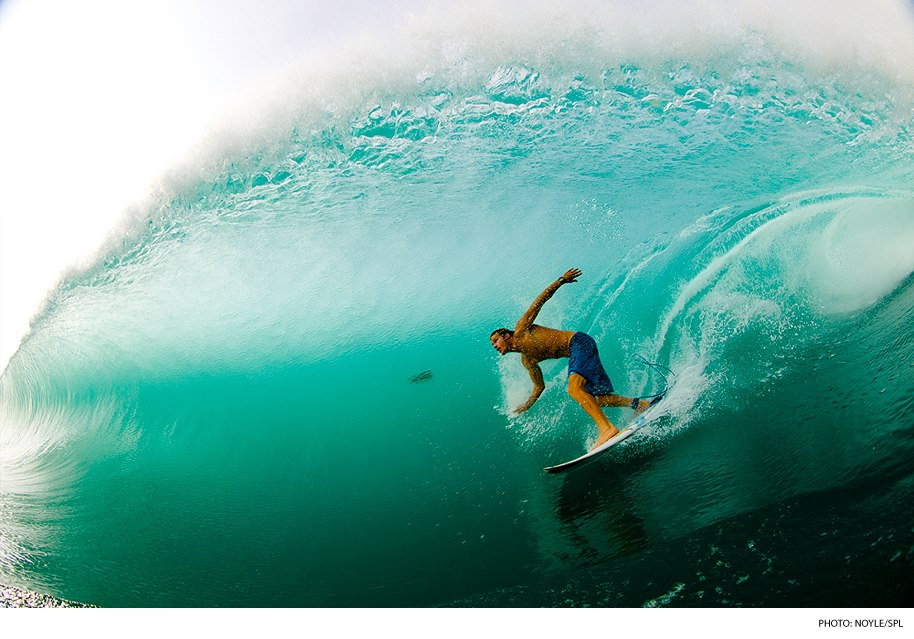 Surf Bede Durbidge, Java. Photo: Zak Noyle Photography/SPL