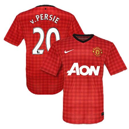 Entertainment Manchester United V.Persie Home Soccer Jersey 2012/2013