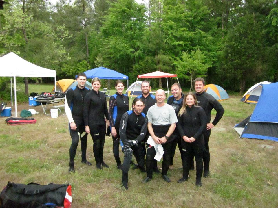 Scuba Open Water Class, Lake Rawlings, VA
