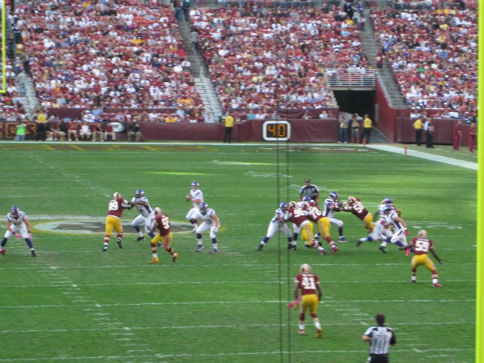 Sports Washington Redskins Vs. Minnesota Viking