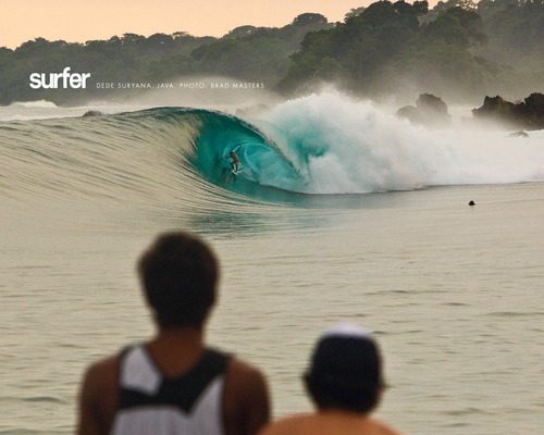 Surf Panaitan Rights, Java, Indonesia.