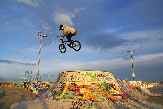 BMX Skateboard Park, South Shields