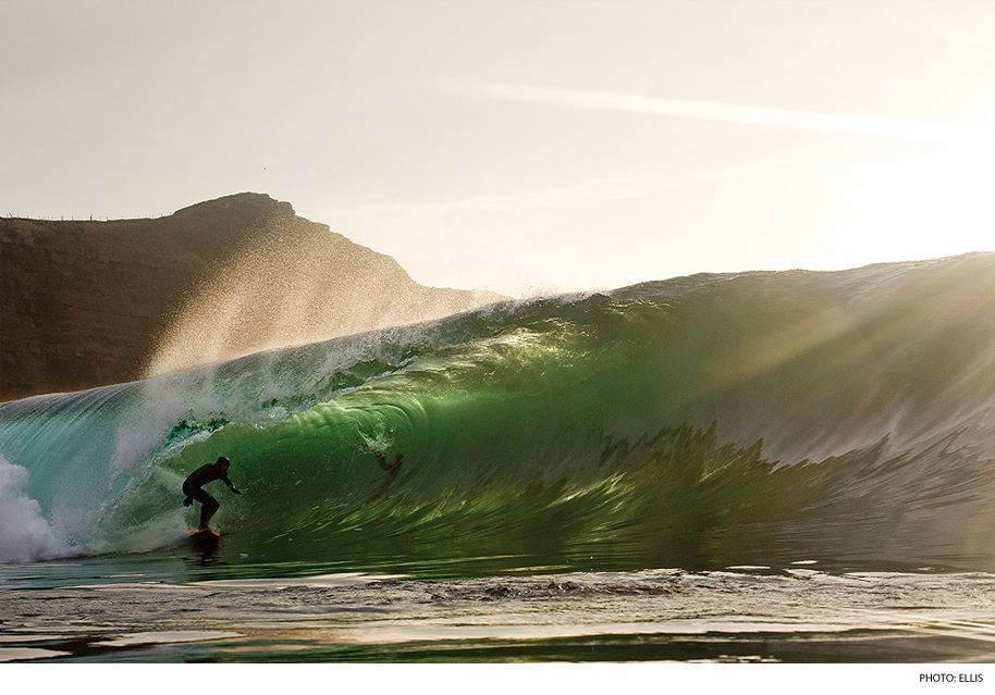 Surf Tom Lowe, Ireland. Photo: Ellis