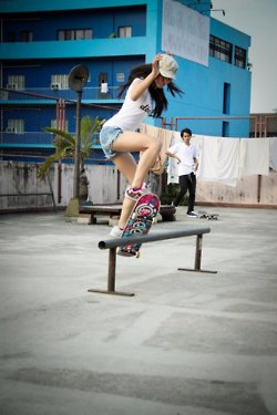 Skateboard patinar