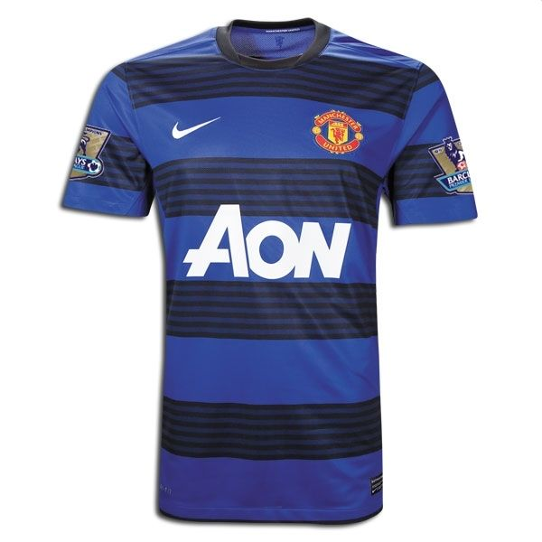 Sports Youth Manchester United Away Soccer Jersey 2011/2012