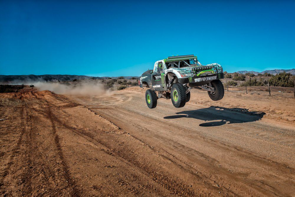Motorsports Looks like Ballistic BJ Baldwin is ready for the Baja 1000!