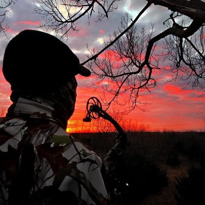 Hunting Sunrise in the stand-- What a great way to start the morning!