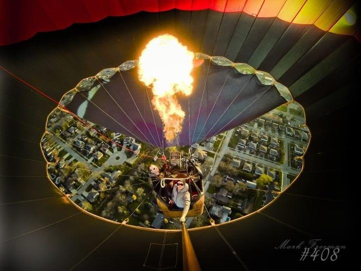 Extreme inside the balloon