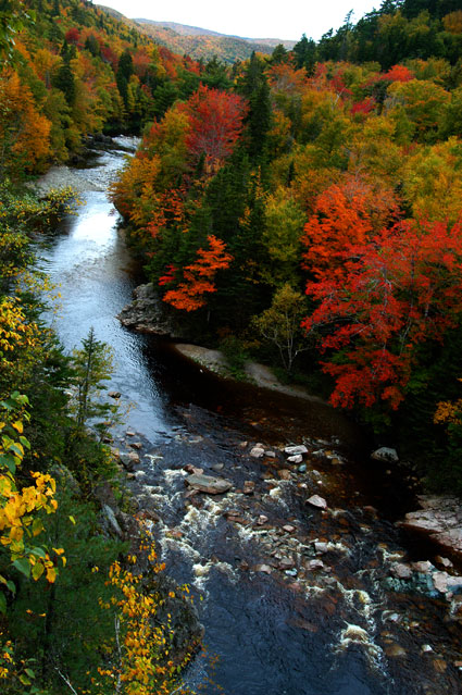 Camp and Hike Fall colors on Cape Breton Island in Nova Scotia