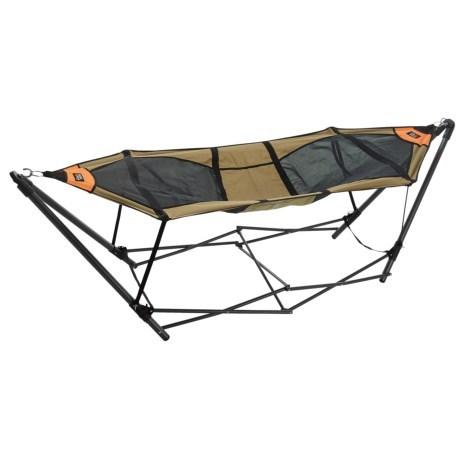 firelite stowaway hammock with stand    59 99   thrill on  rh   thrillon
