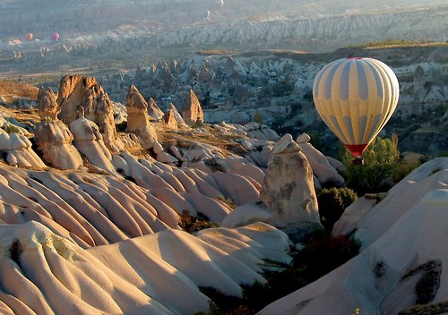 Entertainment Crusing along in Cappadocia Turkey