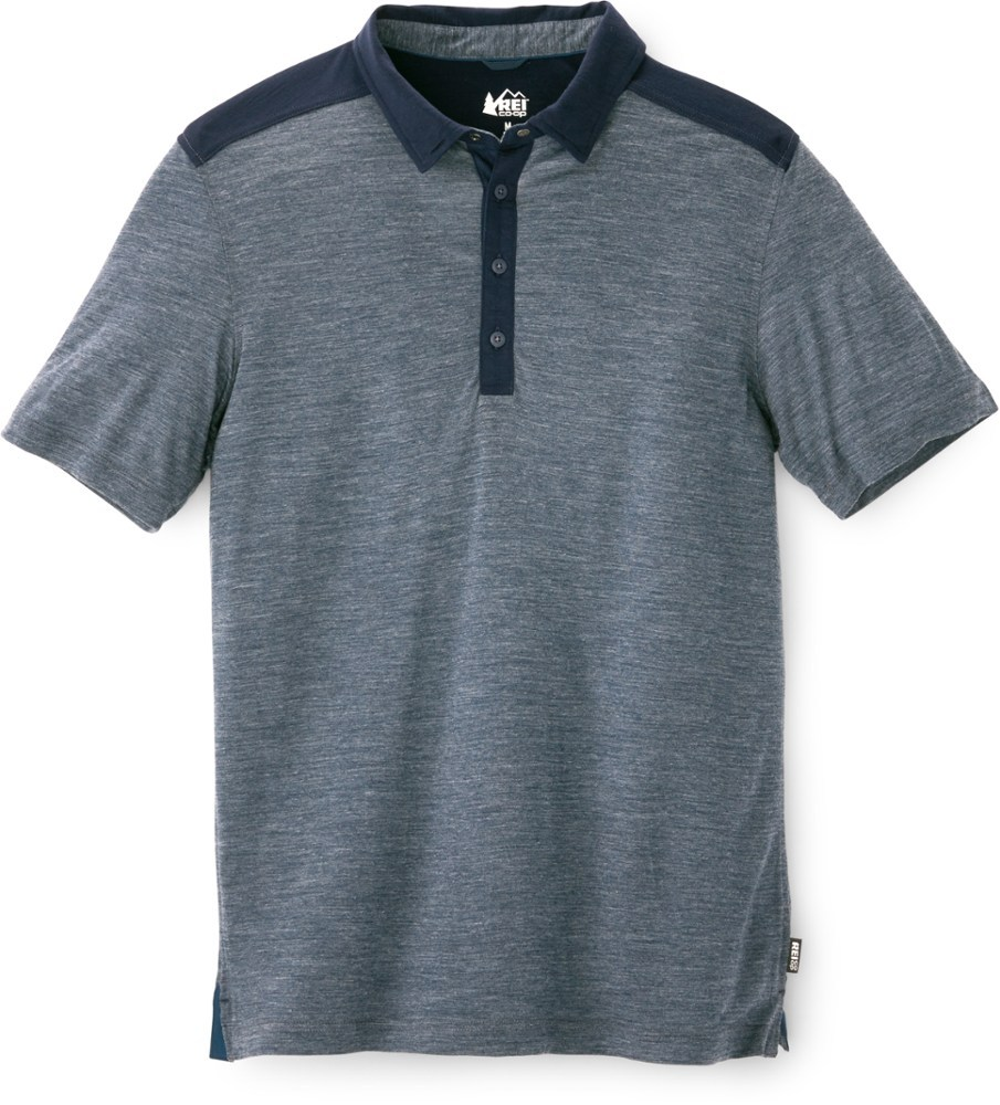 Rei Co Op Mens Taereen Polo Shirt 5495 Thrill On