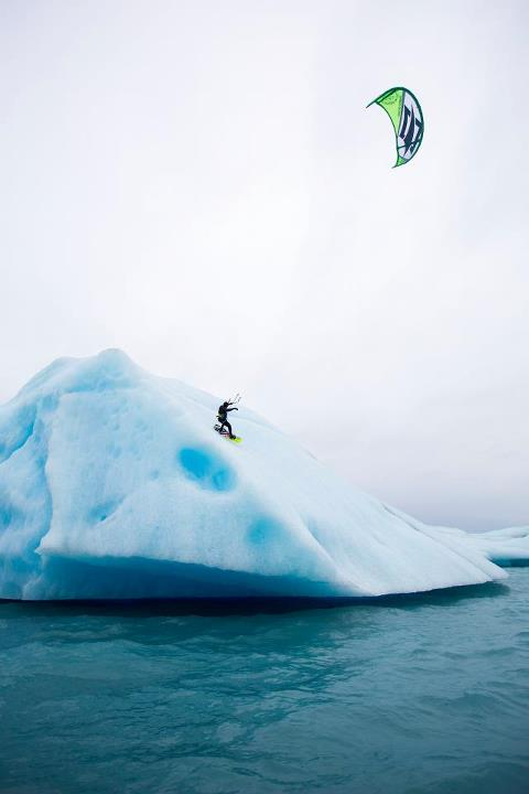 Wake Check out this vid of Team O'Neill's Kevin Langeree on a mission with Kai Lenny surrounded by extreme conditions and amazing landscapes they found the perfect playground to kite – icebergs in Alaska All the adventure here: https://vimeo.com/52505308