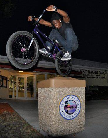 BMX he got them hops...