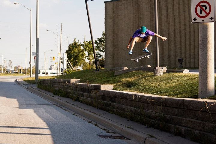 Skateboard Dillon Moore - Kickflip. From our first issue. Shot by: James Morley
