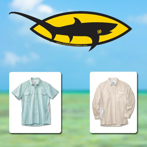 Entertainment 75% OFF fishing shirts from Old Harbor Outfitters.  Only $14.99! 