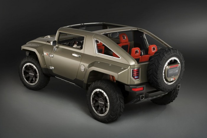 Auto and Cycle Hummer HX Concept Truck