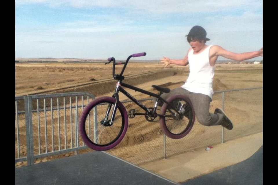 BMX just an old pic of me