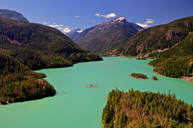 Camp and Hike Glacial Runoff Waters of Diablo Lake