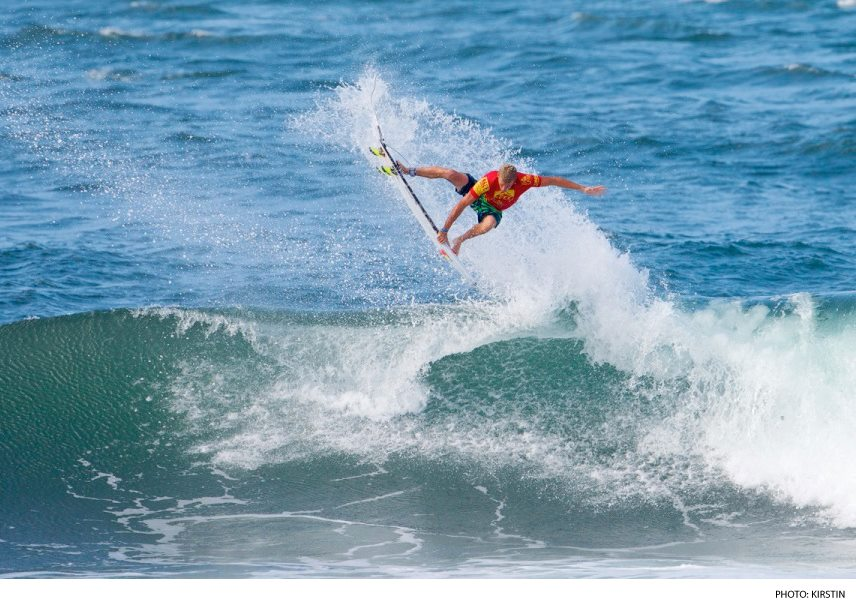 Surf Sebastian Zietz bests Florence, Patacchia, and Muniz to win Reef Hawaiian Pro. Photo: Kirstin