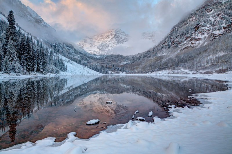 Camp and Hike The Maroon Bells of Colorado