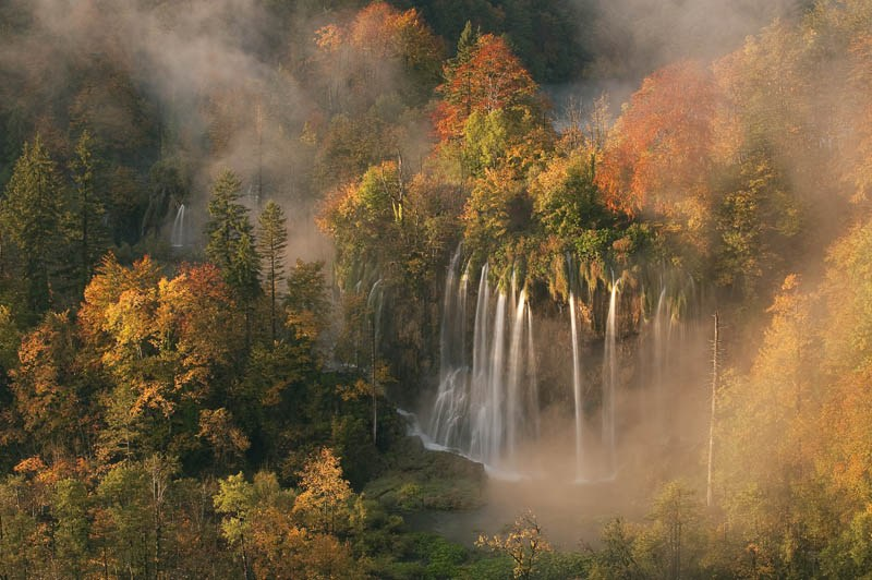 Camp and Hike Plitvice Lakes National Park in Autumn