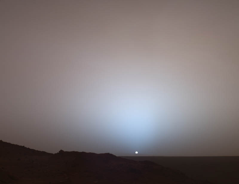 Entertainment Sunset on Mars