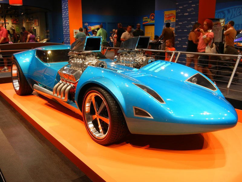 Auto and Cycle Life Size Replica of the Iconic Hot Wheels Twin Mill