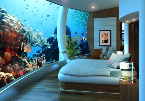 Scuba I want this bedroom