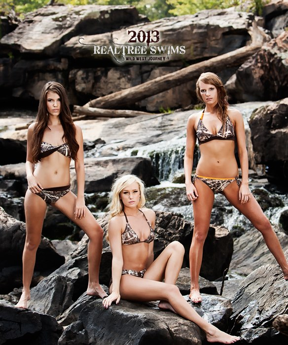 Entertainment The 2013 Realtree Swimsuit Preview. Available in February 2013. To see the 2012 line, click here: http://store.realtree.com/realtree-camo-swimwear/realtree-camo-bikini.html