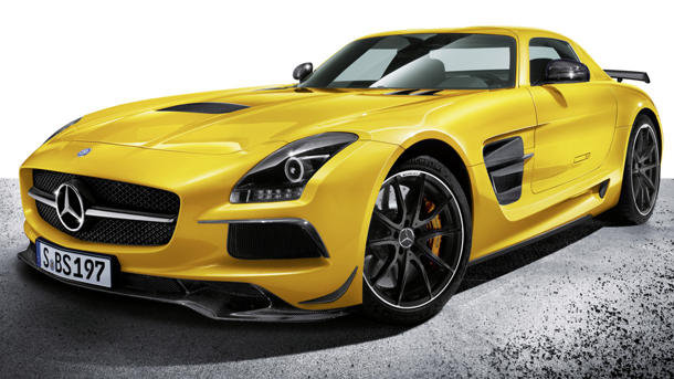 Auto and Cycle 2014 Merecedes SLS AMG Coupe Black Series