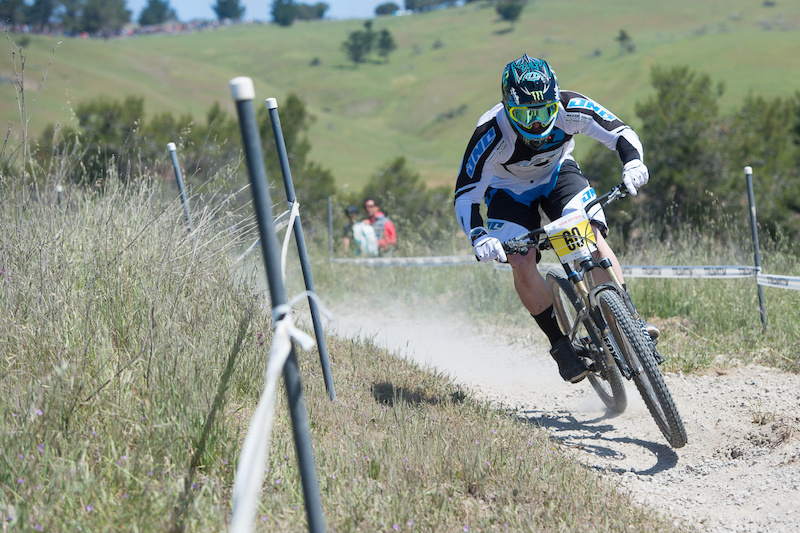 MTB Yeti's Jared Graves takes yet another Sea Otter DH win aboard his short travel bike.