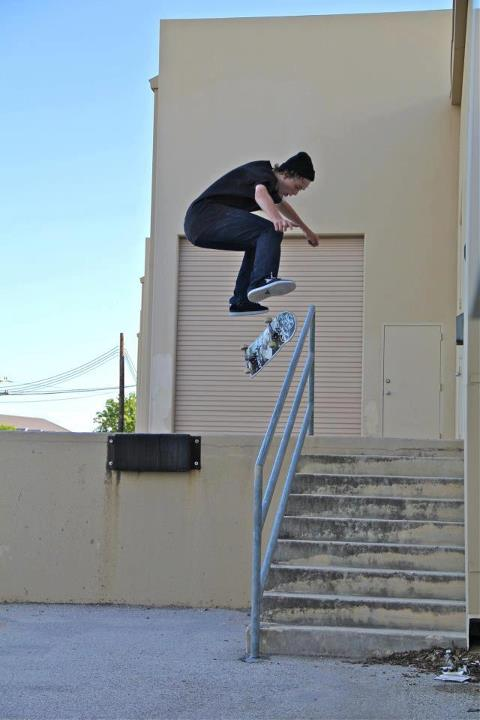 Skateboard Pic of the Day!! George Karvounis, with a flip front board!! If you have a Sick pic or Video, Msg it to us and we will post it!? Like the Majer Crew Page for more pics and Videos!!! WATCH OUR NEW MAJER EDIT RIGHT HERE!!!!!! http://www.youtube.com/watch?v=