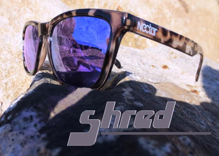 Entertainment New model! Now in the shop our new white tortoise frames with violet lens... enjoy! Get some here: http://www.nectarsunglasses.com/products/shred