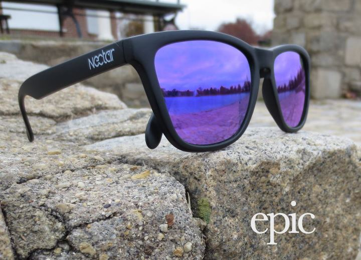 Entertainment NEW MODEL IN THE SHOP! Black frames with our brand new violet lens...Do epic sh*t in your sunnies!
