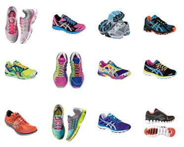 Fitness What color are YOUR running shoes?