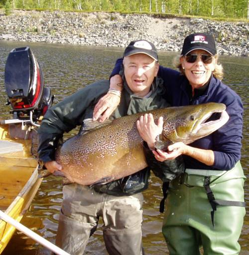 Fishing The Alta River is one of the best giant Salmon rivers in Norway
