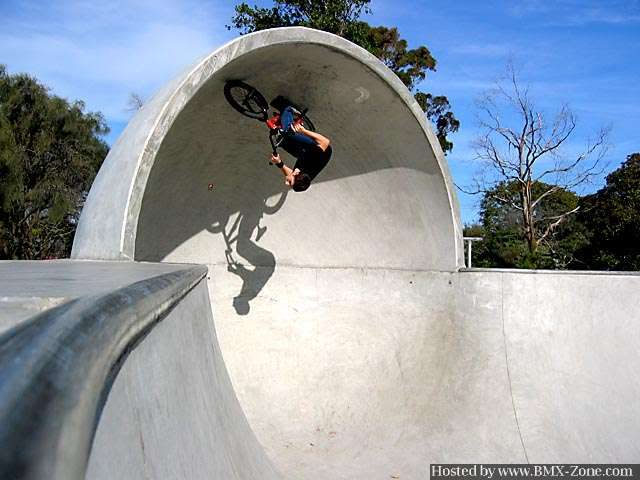 BMX the full loop!