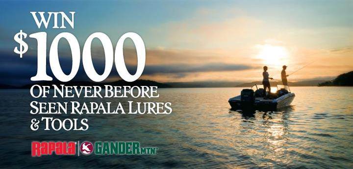 Interested in getting your hands on $1,000 in gear that won't be available to other anglers until 2013?  Then enter the Rapala Brand Collection Sweepstakes!  This is your chance to win a boatload of lures and tools that no one else has seen – and it could
