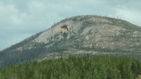 Sent in by John B. as he traveled through British Columbia on his way to Alaska. 