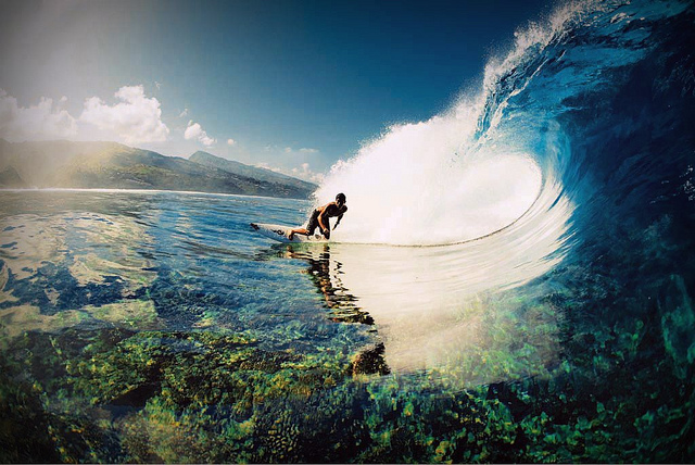 Surf Tahiti surf