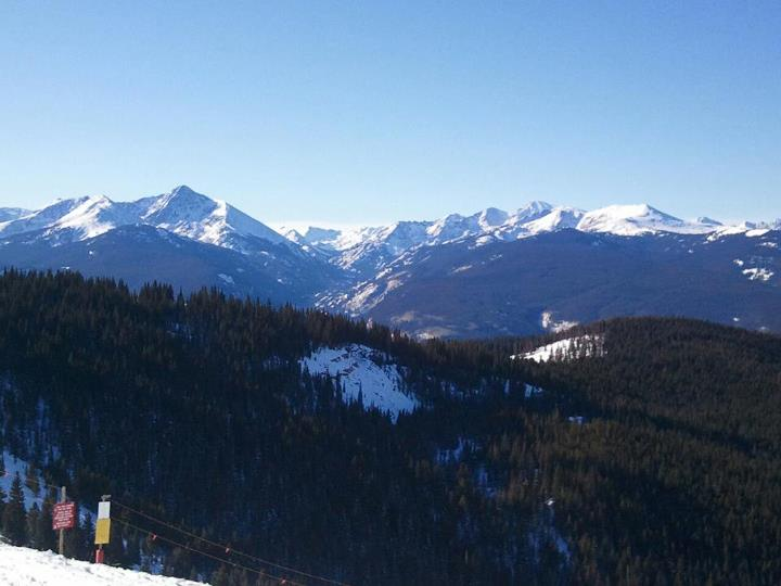 Ski Beautiful day at @vailmtn