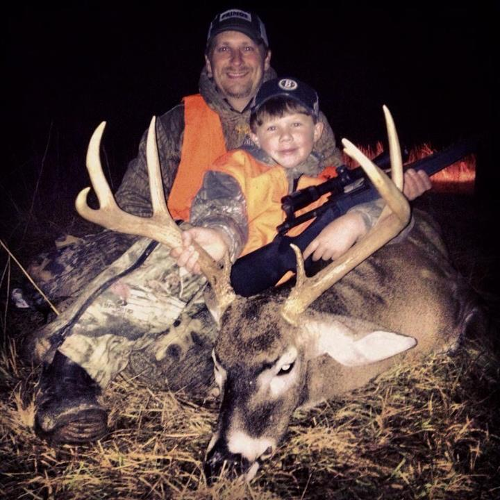 Hunting Kemper Cole Meacham strikes first in Mississippi for Team Primos on a fine buck!! Congrats Lil buddy!