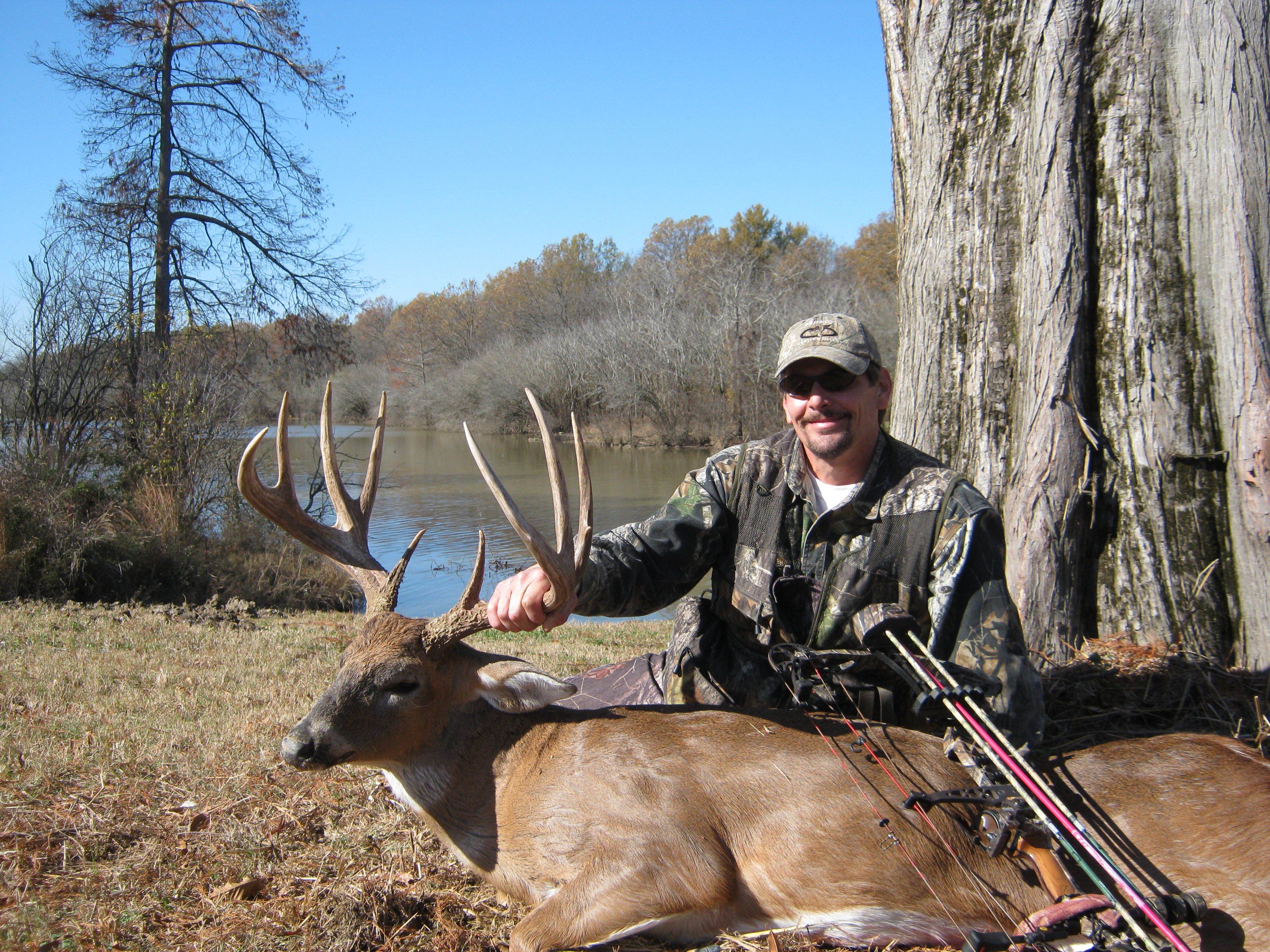 Hunting Prostaffer of the year, Kenny McGeehan from PA, capitalized on his hunt in Mississippi.