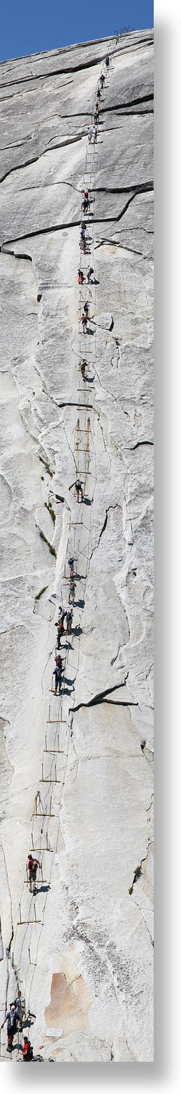 Camp and Hike Yosemite Half Dome: Cable Hike