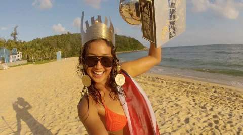 Surf Congrats to GoPro athlete Kelia Moniz (Surfer and Roxy Model) for winning the ASP World Longboarding Championships!