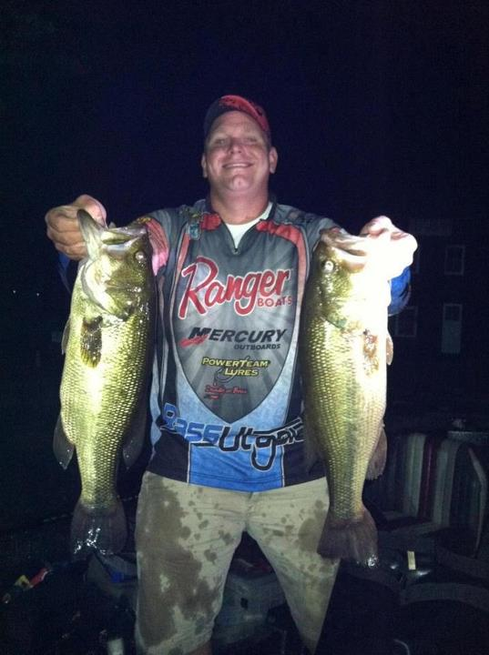 Fishing Here are two of my biggest bass that landed me in first place finish on Highland Lake NY , my total weight was 18.5 what a night!  - William Payne
