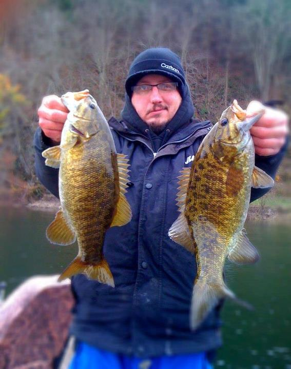 Entertainment Jeff Shauf reports:  Nov 4 2012 it was a very cold and windy day on the river today, one of those where your either crazy or dedicated kinda days lol. The numbers were low but the quality good. These ones was caught on a yellow perch xr10. Tight lines guy