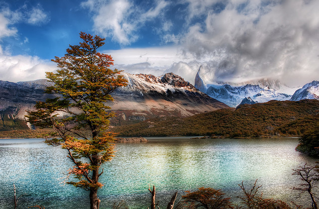Camp and Hike Emerald Lake in the Andes