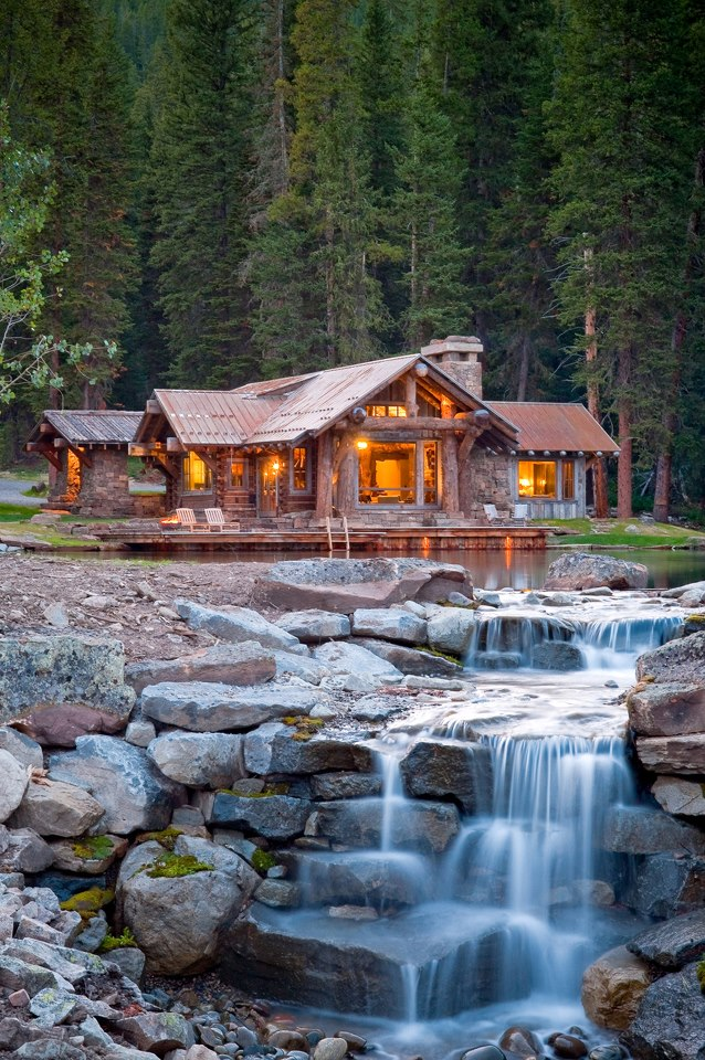 Camp and Hike dream home